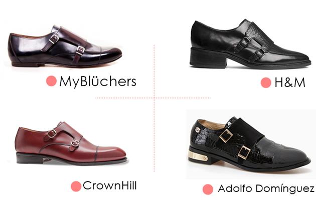 zapatos monkstrap, zapatos hebilla lateral