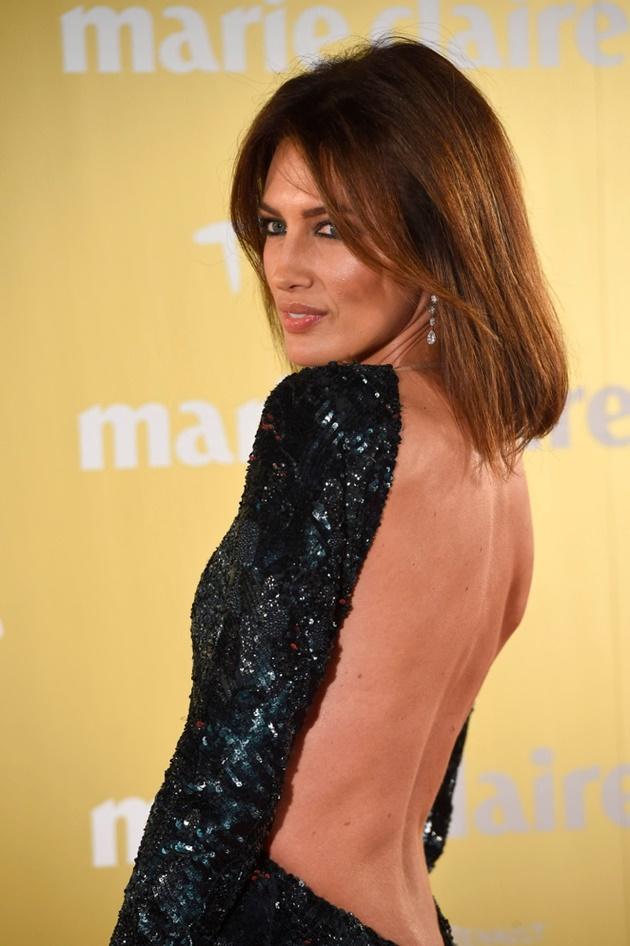 Nieves Álvarez en los Prix Marie Claire