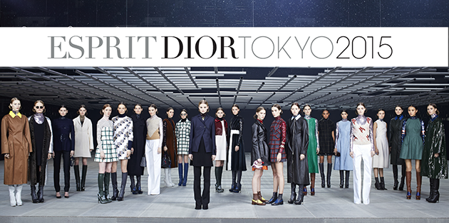 Pre Fall 2015 Dior Tokyo